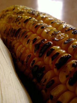 Kalchina Mokkajonna Potthulu ~ Fire Roasted Corn