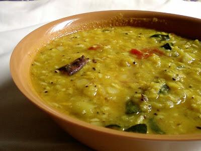 Beerakaya Kootu ~ Ridge Gourd Lentil Stew