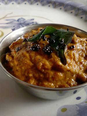 Beerakaya Tomato Pachadi ~ Ridge Gourd Tomato Chutney