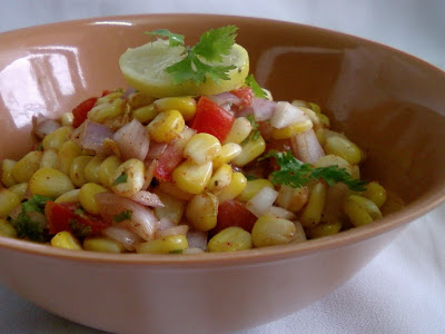 Sweet Corn Chat Mixture