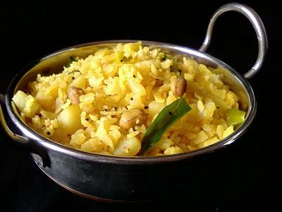 Batata Poha ~ Aloo Poha