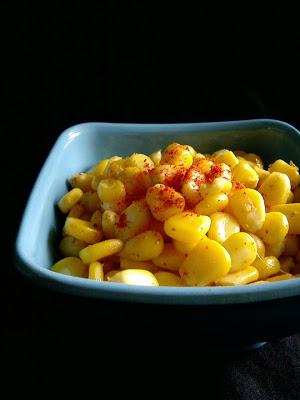 Quick Corn Chaat