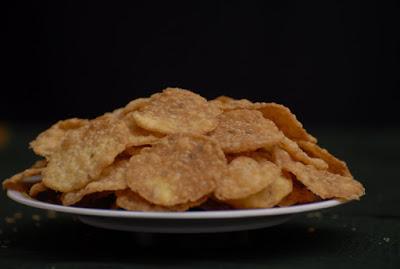 Crunchy Corn Papdi