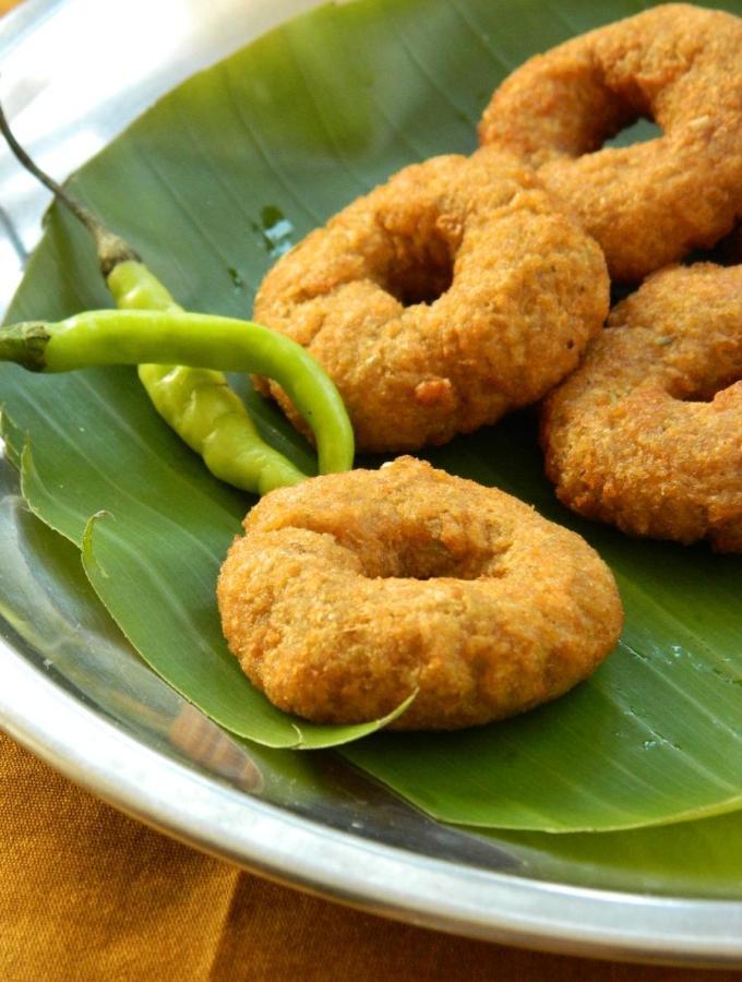 Kanda Garelu ~ Elephant Yam Vada Recipe