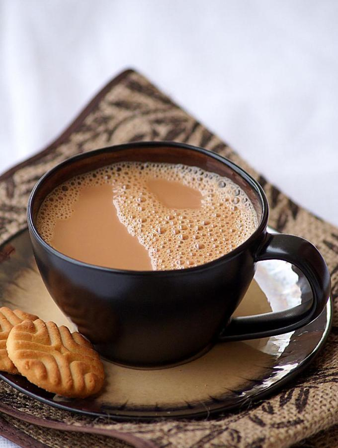 Allam Tea – Adrak Chai Recipe – Indian Ginger Cardamom Tea Recipe