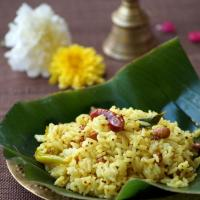 Aava Pettina Pulihora Recipe ~ Andhra Mustard Flavored Tamarind Rice ~ Sankranti Special Recipes