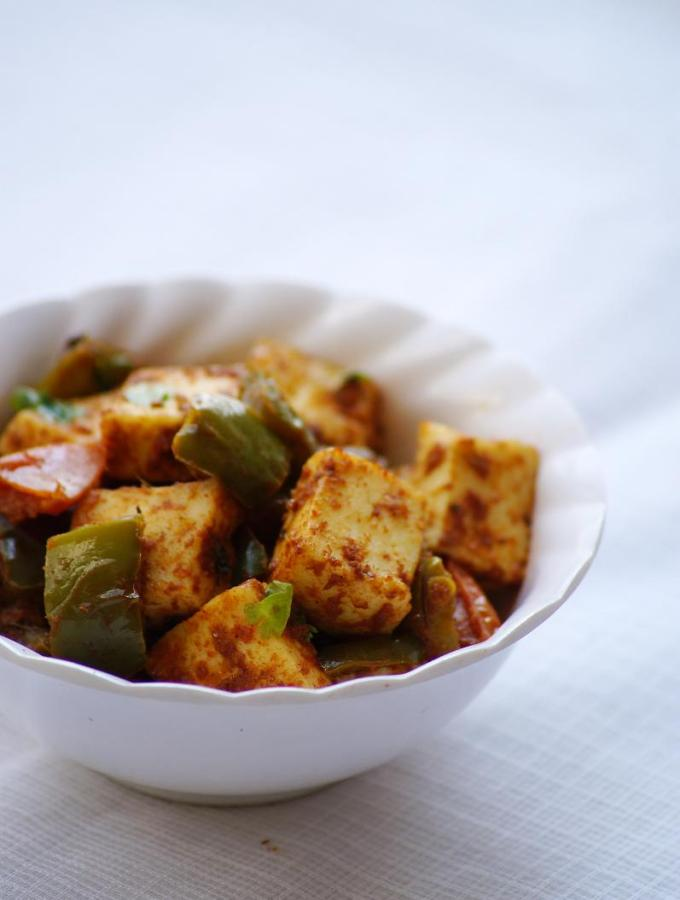 Paneer Capsicum Sir Fry Recipe – Easy Paneer Recipes