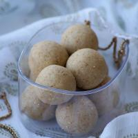 Til Khoya Laddu Recipe - Sesame Seeds Mawa Ladoo Recipe - Makar Sankranti Recipes