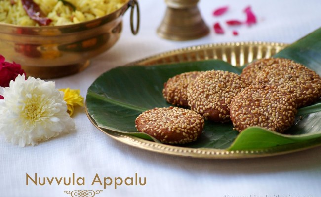 Nuvvula Appalu Recipe Makar Sankranti Special Recipes