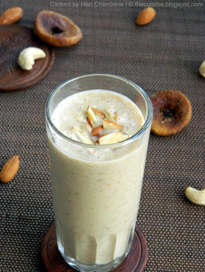 Dry Fruits Milkshake Recipe