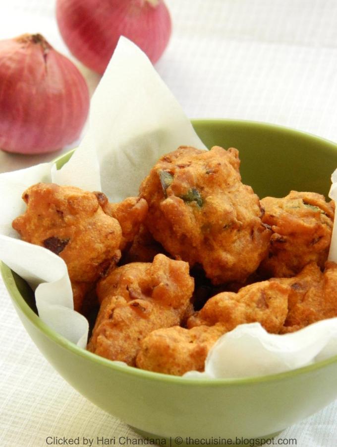Onion Pakoras ( Soft Pakora ) Recipe