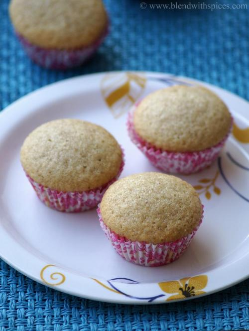 vegan cupcakes, vegan cupcake recipe, how to make vegan cupcakes, cardamom cupcakes