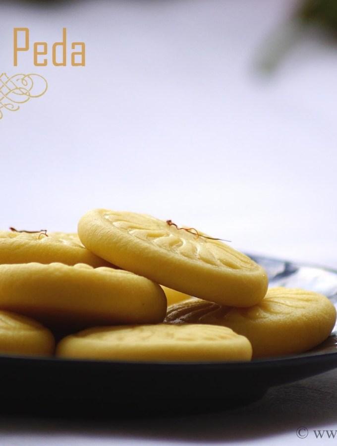 Kesar Peda Recipe – Step by Step Recipe – Krishna Janmashtami Special Recipes