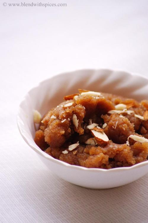 singhare atta sheera recipe, north indian fasting recipes, navratri vrat recipe
