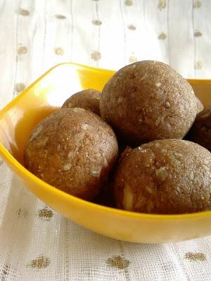 Ariyunda ~ Parboiled Rice Laddoo