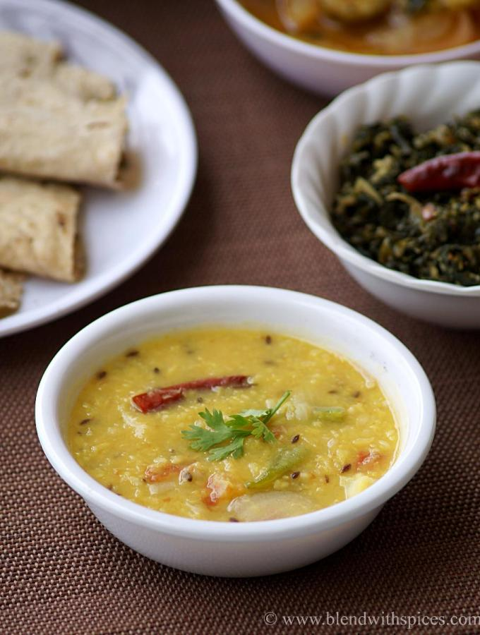 Moong Dal Tadka Recipe – How to make Moong Dal Recipe – Simple Indian Dal Recipes