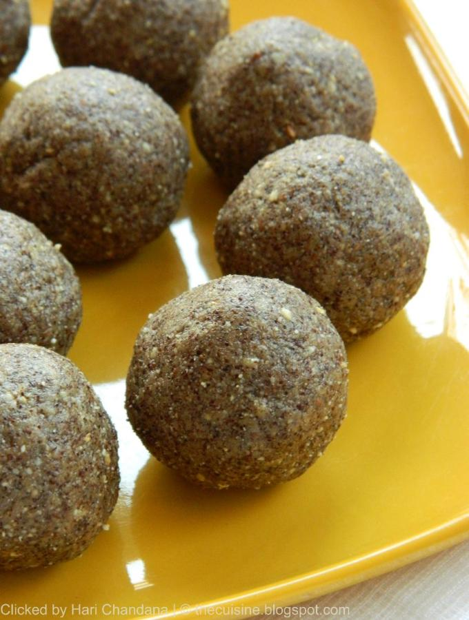 Ragi Flour and Peanut Laddu Recipe