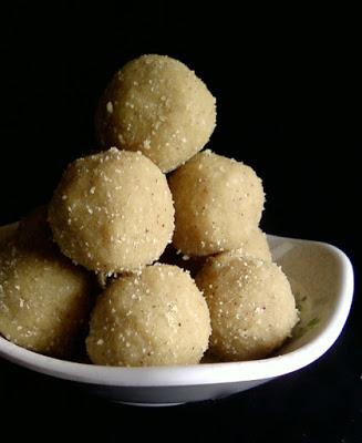 Atukula Laddu   Krishnashtami Recipes