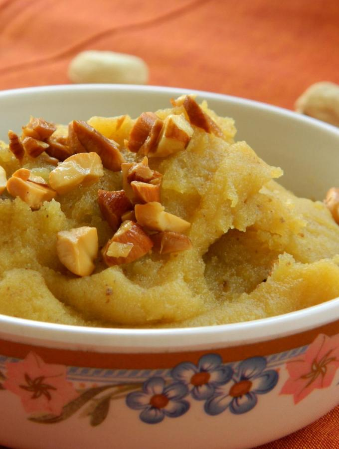 Besan Ka Halwa ~ Indian Gram Flour Pudding Recipe