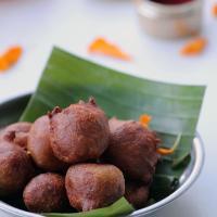Aratipandu Boorelu - Sweet Appam Recipe - Instant Wheat Flour Appam Recipe - Navaratri Naivedyam Recipes