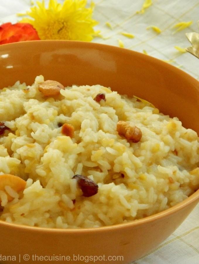 Chakra Pongali ~ Sankranthi Festival Special Recipes