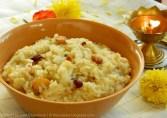 chakra pongali recipe, how to make chakra pongali recipe