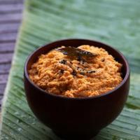 Tomato Coconut Chutney Recipe - Tomato Kobbari Pachadi Recipe - South Indian Chutney Recipes for Idli Dosa