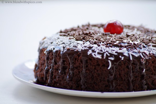 How to Make Eggless Chocolate Cake: 10 Steps (with Pictures) Eggless chocolate cake recipe with step by pictures