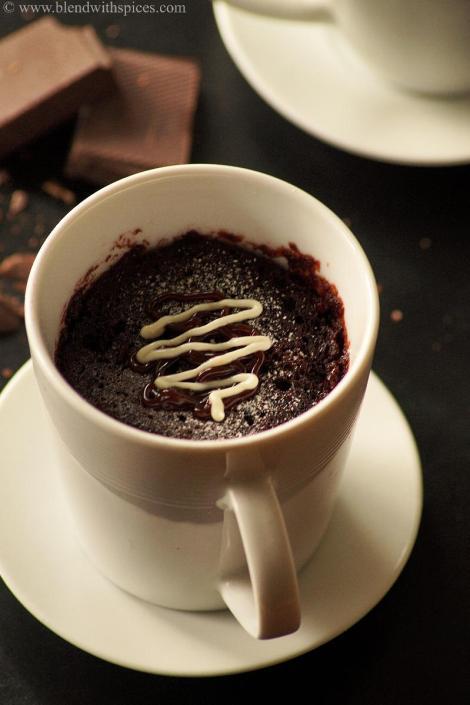 How To Make Microwave Vanilla Sprinkle Cake In A Mug