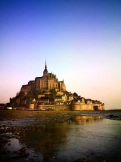 Mont--Saint-Michel at Dawn