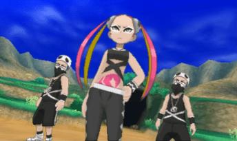 Pulmeria and her break dance crew