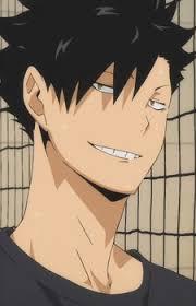 kuroo smile 2