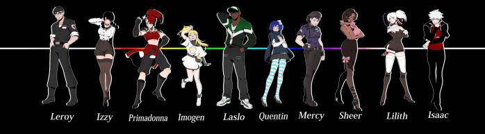 Chromatose Characters