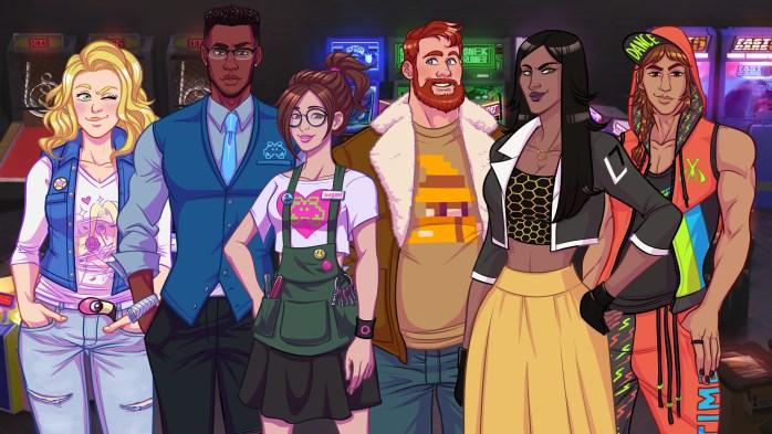 Arcade Spirits Characters