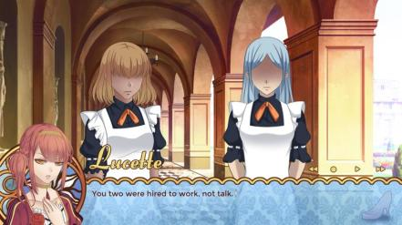 Lucette from Cinderella Phenomenon berating castle maids