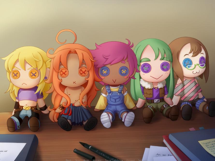 Doki Doki Dollmaker BL Game Characters