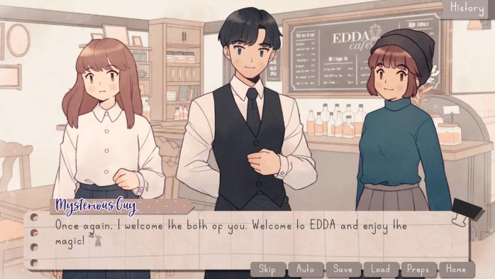 EDDA Cafe Indie Game