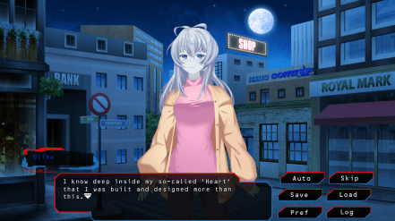 My 3rd Date with my Cyber Girlfriend Visual Novel