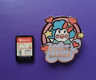 Happy Otome Gamer Enamel Pin