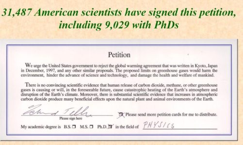 Global Warming Petition Project