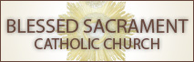 Link to The Blessed Sacrament Church Website
