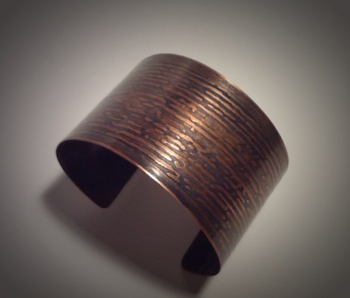 Custom Copper Cuff- 2