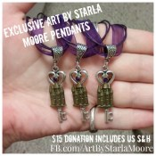 Baubles & Blessings-Exclusive Art by Starla Moore Pendants