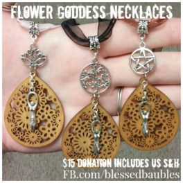 Flower Goddess Necklaces