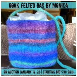 OOAK Felted Bag by Monica
