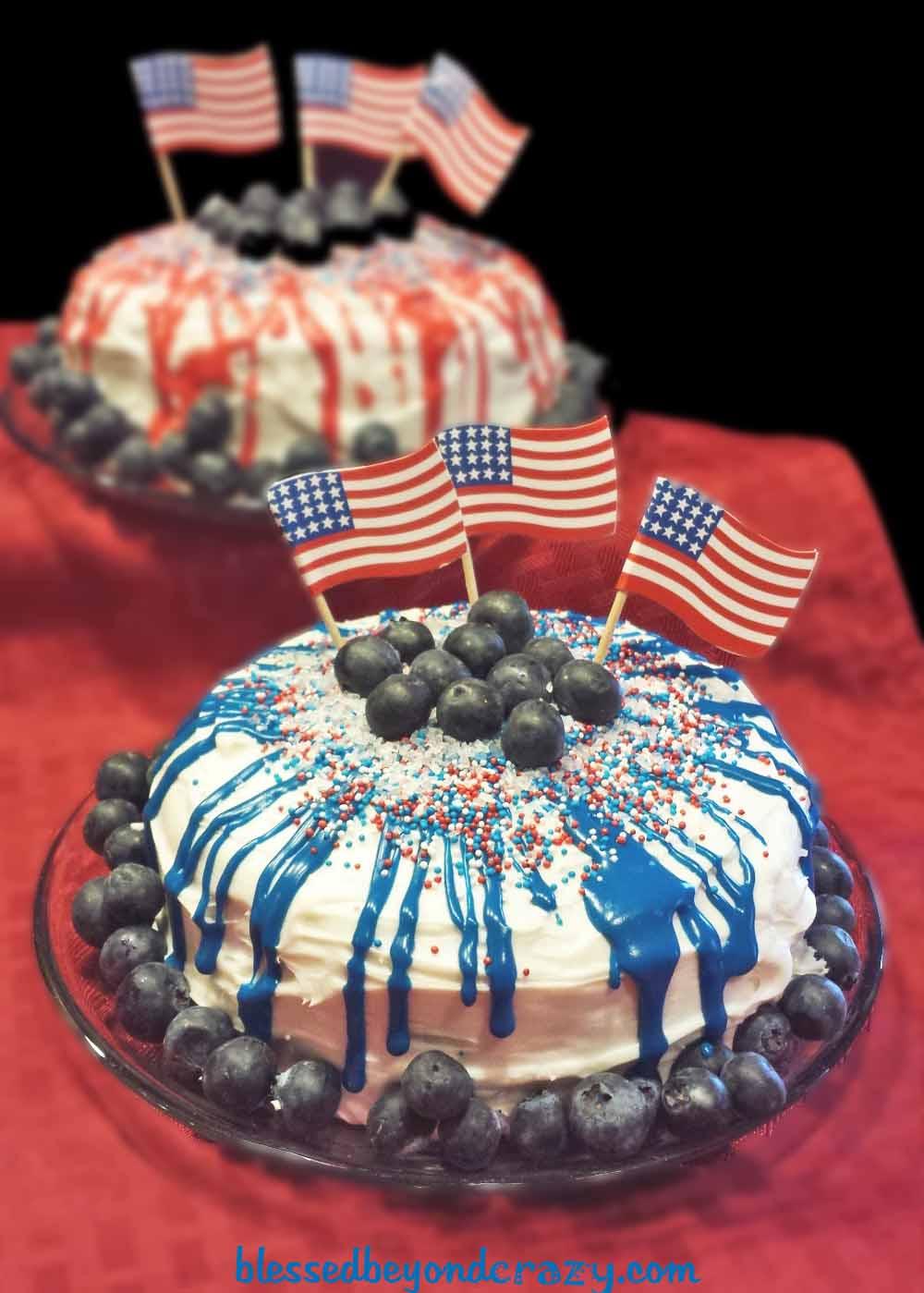 patriotric cakes