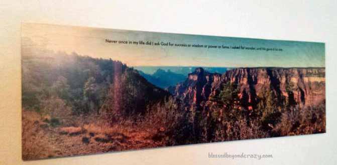 panoramic grand canyon