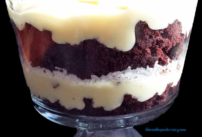 almond joy trifle3
