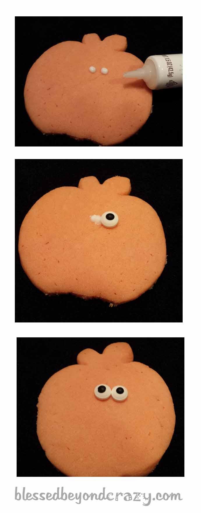 halloween pumpkin sugar cookies11