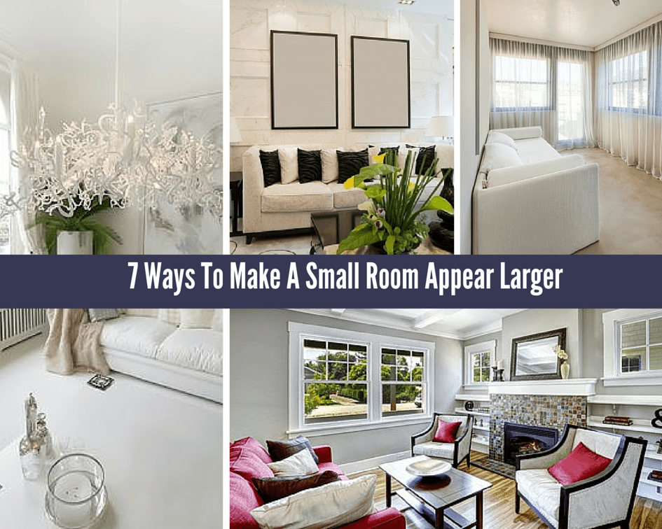 7 Ways To Make A Small Room Appear 4